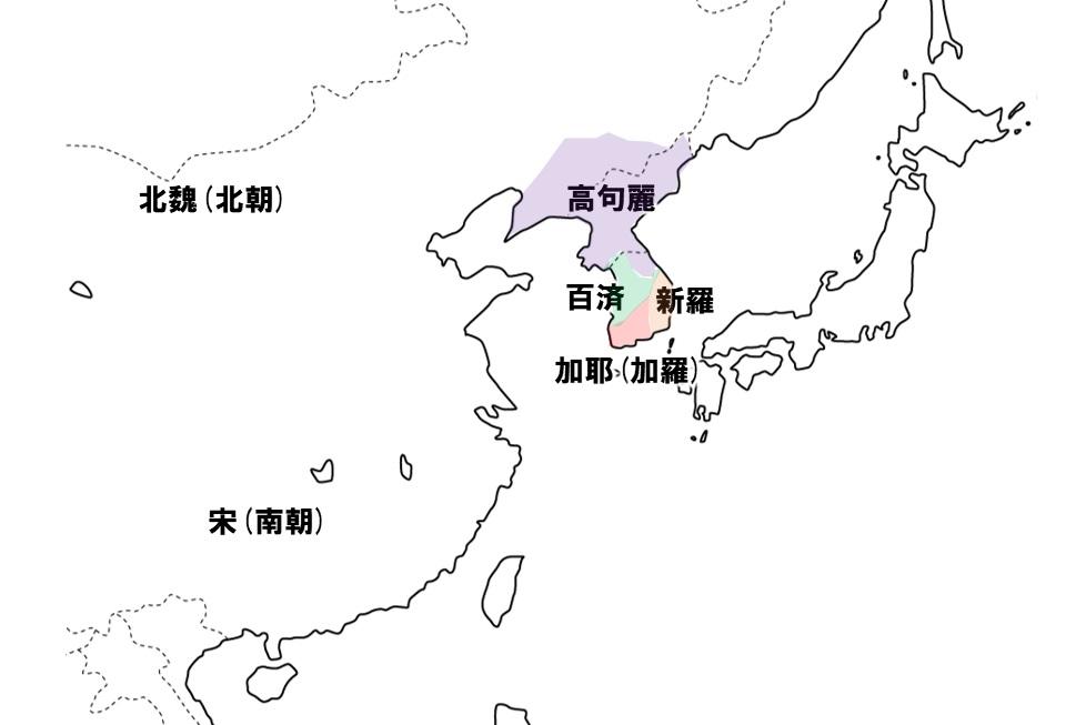 4世紀の中国・朝鮮半島